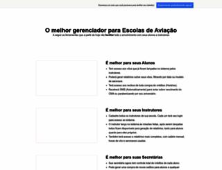 gescolasdeaviacao.com.br screenshot