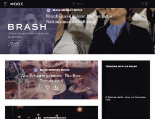 gesellschaft.brash.de screenshot
