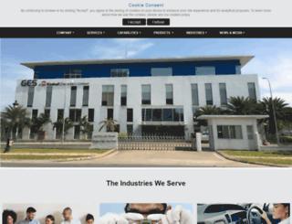 geservs.com screenshot