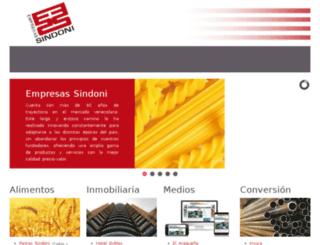 gesindoni.com.ve screenshot