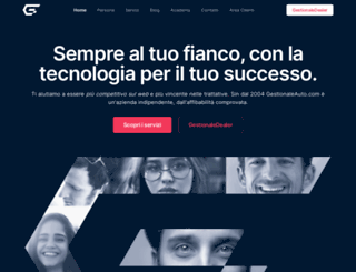 gestionaleauto.com screenshot