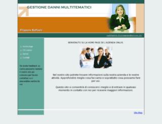 gestionedanni.org screenshot