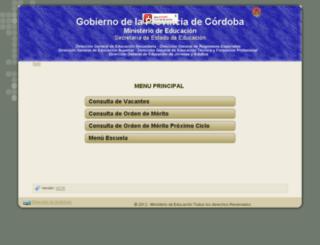 gestioneducativa.cba.gov.ar screenshot