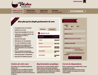 gestionnaire.vitiplace.com screenshot