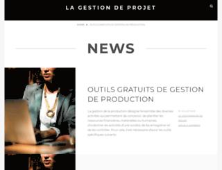 gestionprojet.net screenshot