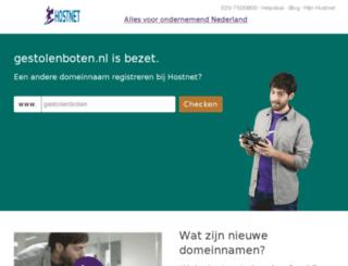 gestolenboten.nl screenshot