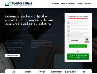 gestoreditais.com.br screenshot