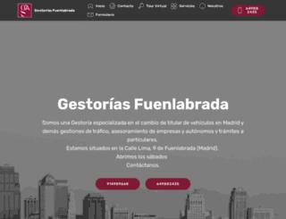 gestoriasfuenlabrada.com screenshot