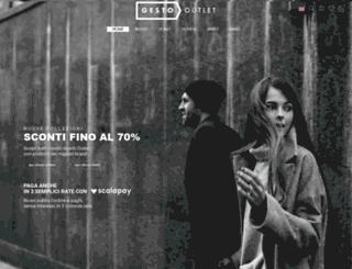 gestoutlet.it screenshot