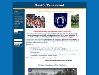 gestuet-tannenhof-horst.de screenshot