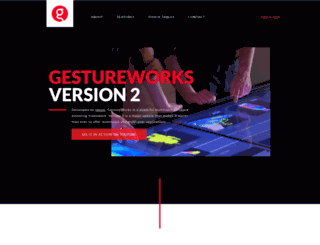 gestureworks.com screenshot