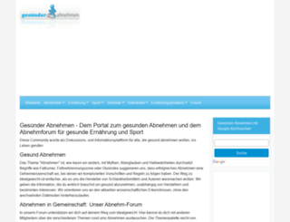 gesuender-abnehmen.com screenshot