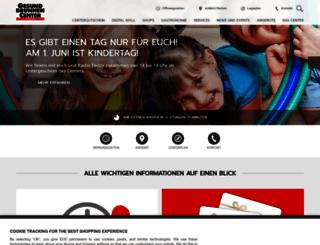 gesundbrunnen-center.de screenshot