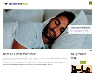 gesundheitslust.com screenshot