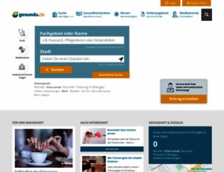 gesundheitsnetz-deutschland.de screenshot