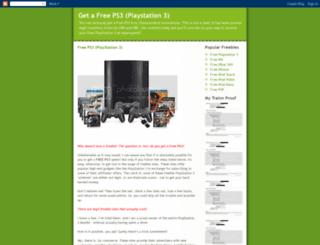 get-a-free-playstation-3.blogspot.com screenshot