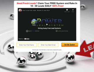 get-free-leads.gavin70.com screenshot