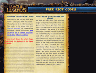 get-free-riot-points-code.org screenshot