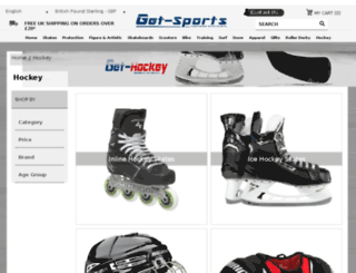 get-hockey.co.uk screenshot
