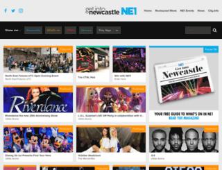 get-into-newcastle.co.uk screenshot