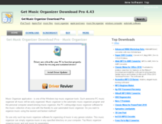 get-music-organizer-download-pro.com-about.com screenshot