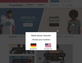 get-profit-adz.spreadshirt.de screenshot
