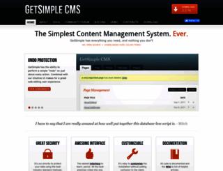 get-simple.info screenshot
