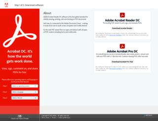 get.adobe.com screenshot