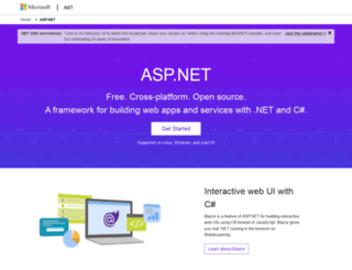 get.asp.net screenshot
