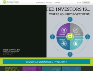 get.connectedinvestors.com screenshot