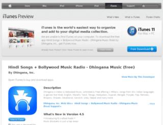 get.dhingana.com screenshot