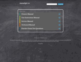 get.manualget.ru screenshot