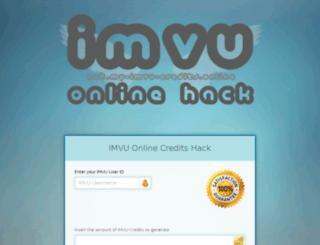 get.my-imvu-credits.online screenshot