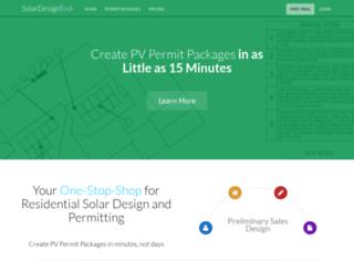 get.solardesigntool.com screenshot