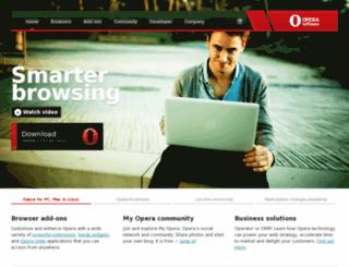 get12.opera.com screenshot