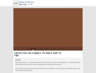 get2fiji.com screenshot