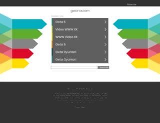 geta-xx.com screenshot