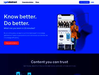 getabstract.com screenshot
