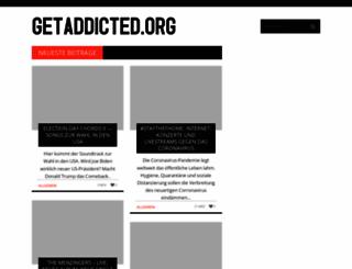 getaddicted.org screenshot