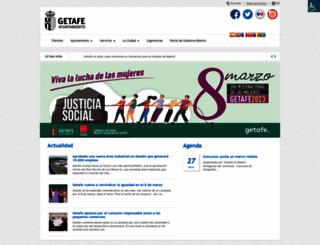 getafe.es screenshot