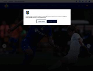 getafecf.com screenshot