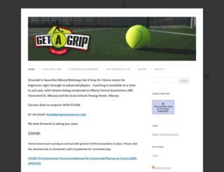 getagripontennis.com screenshot