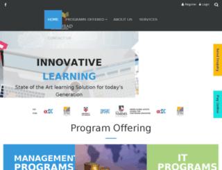 getaheadeducation.com screenshot