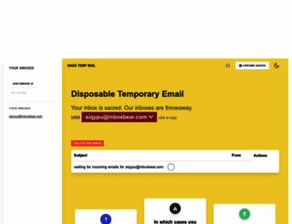 getairmail.com screenshot