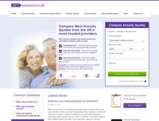 getannuity.co.uk screenshot