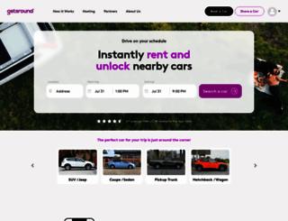getaround.com screenshot