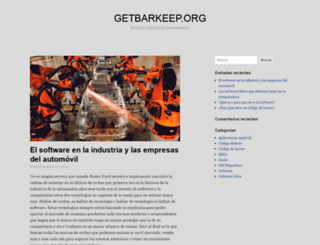 getbarkeep.org screenshot