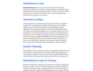 getbusinessloan.biz screenshot