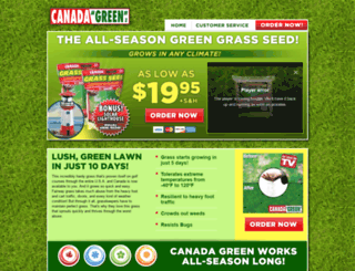 getcanadagreen.com screenshot