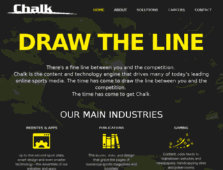 getchalk.com screenshot